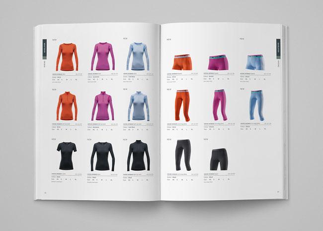 欧洲户外品牌Devold的公司简介画册设计
