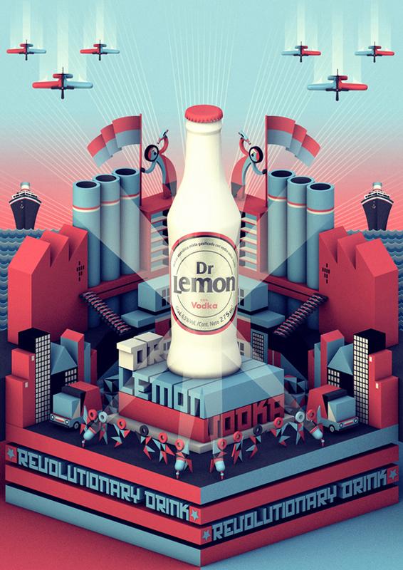 福田广告设计公司推荐:啤酒创意广告设计
