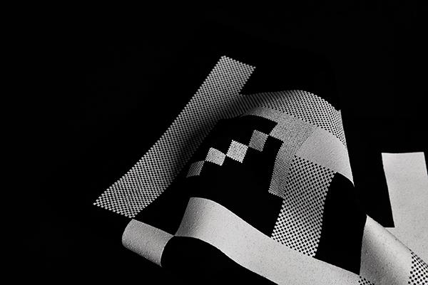 用像素来塑造设计公司的品牌形象,精致大气黑