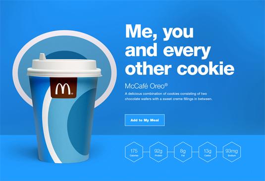 麦当劳饮品/饮料包装设计,设计灵感来自巧克力棒