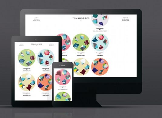 vi设计说明:Tonangeber音乐播放网站自定义图形的艺术
