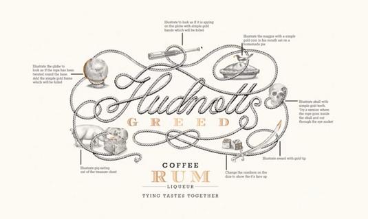 如何创作优秀的插图风格标志logo设计zz