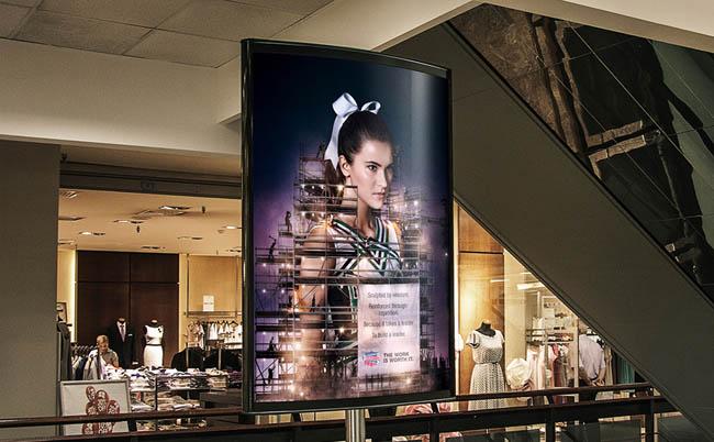 西安广告设计公司整理:NCA啦啦队广告设计创意