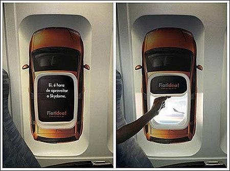 平面广告设计公司分享:飞机杂志广告设计