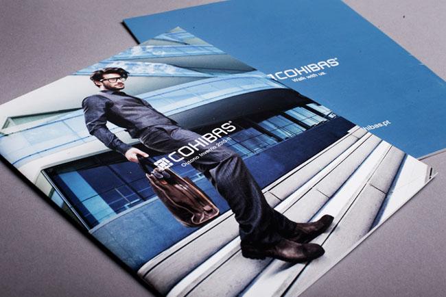 龙华画册设计:男鞋品牌画册设计