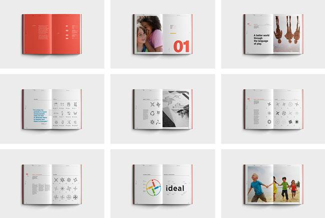 苏州画册设计公司欣赏:精美IDEAL品牌画册设计