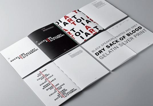 没有logo标识设计的画廊vi形象设计