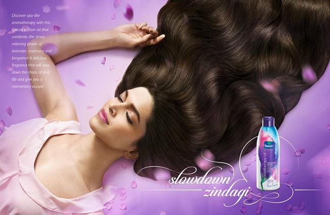 郑州广告设计公司整理:香薰化妆品广告设计