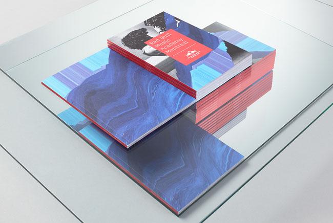 西安画册设计公司分享:红牛音乐学院画册设计思路