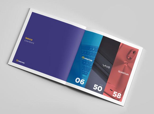 哈尔滨画册设计:索尼手机画册设计