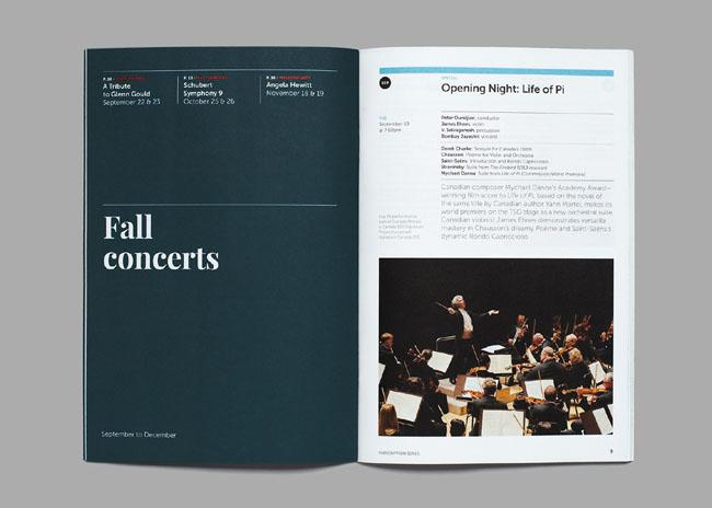交响乐团最新宣传画册设计,用作品说明什么是画册设计