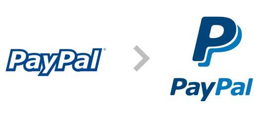 贝宝PayPal品牌标志设计创意,logo设计理念