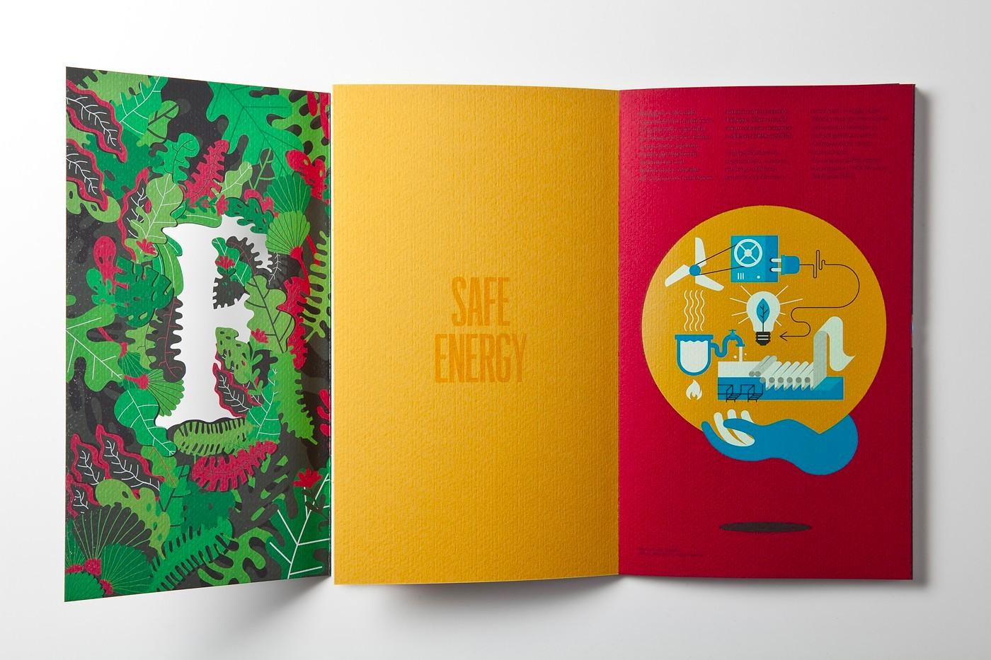 绿色画册设计欣赏