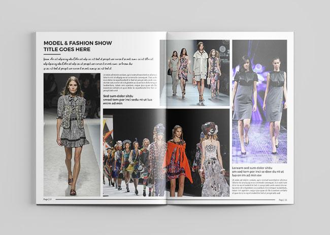 武汉画册设计公司推荐:时尚服装画册设计模版