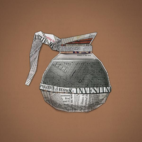 福田平面设计工作室整理:华尔街日报简约海报设计