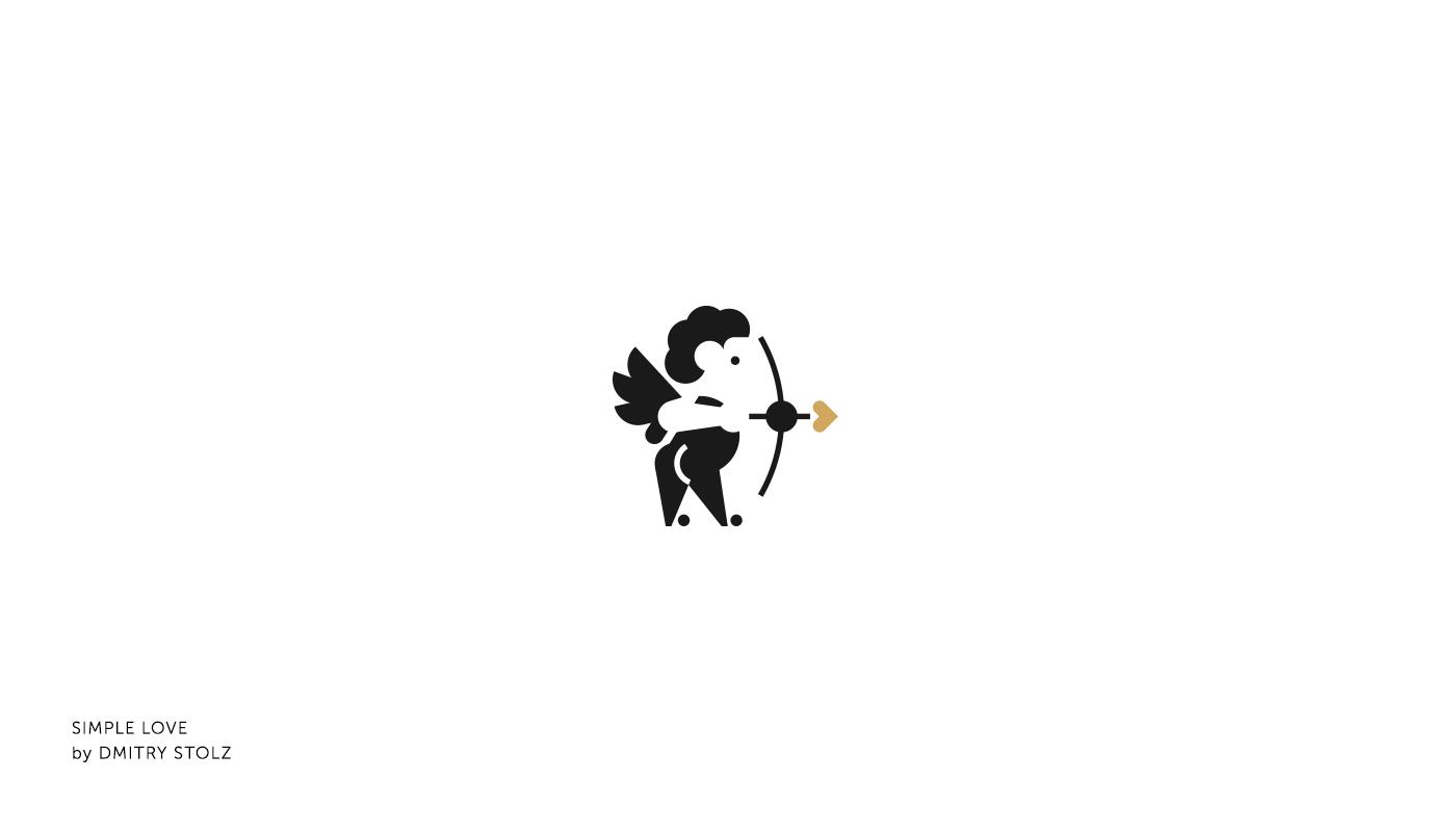 佛山logo设计公司整理:情人节和爱情主题专业logo设计