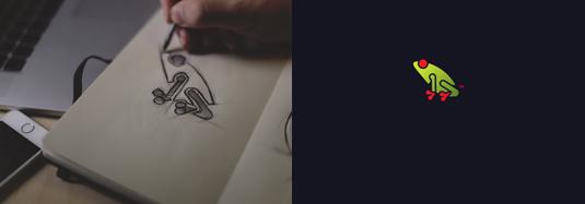 矢量动物标志设计,logo设计