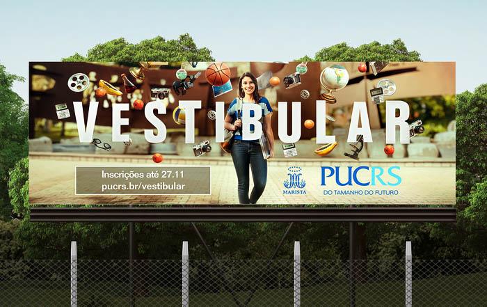 杭州广告设计公司整理:巴西MBA培训学校品牌广告设计