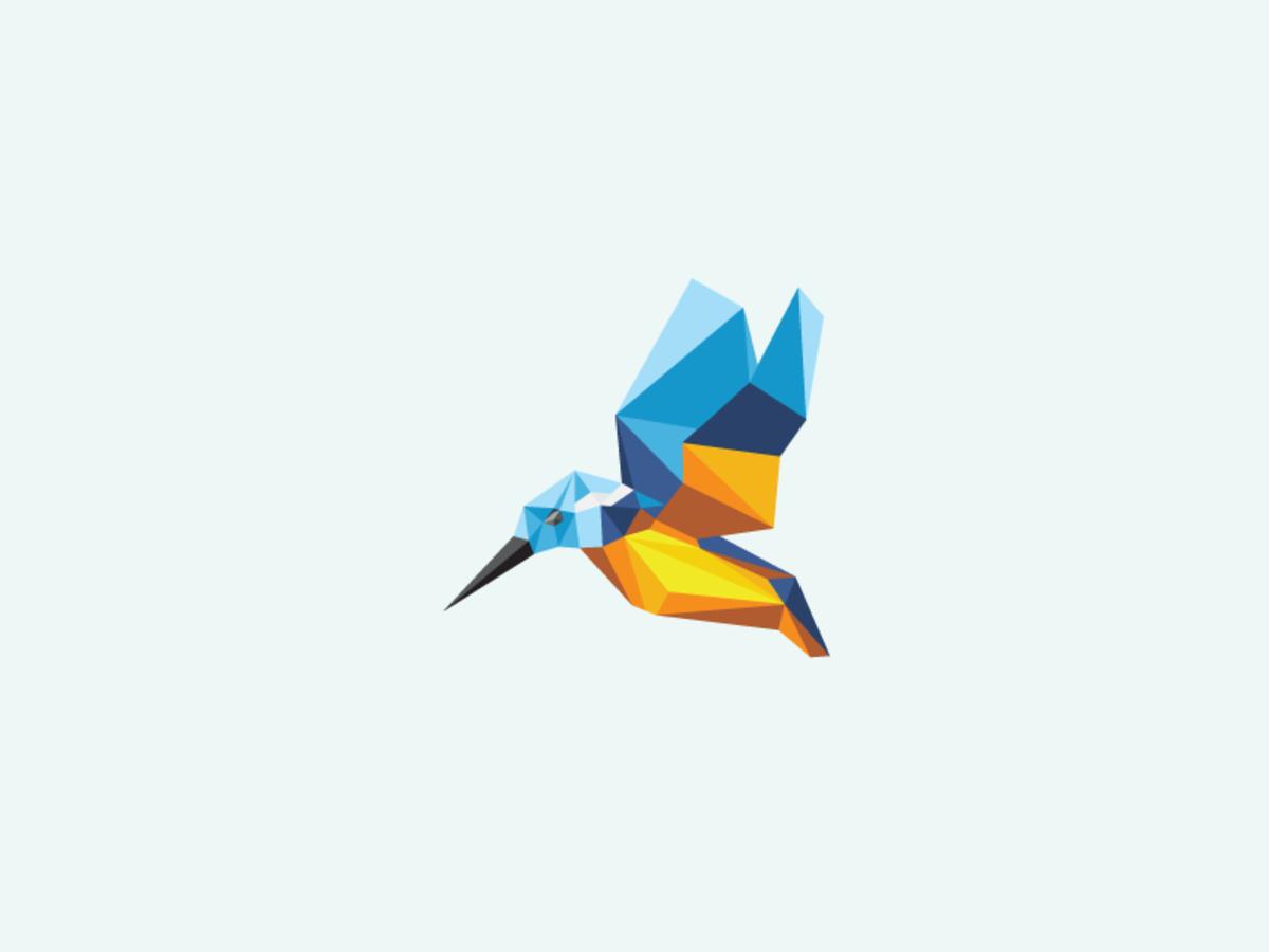 厦门logo设计公司分享:35个多边形创意logo设计