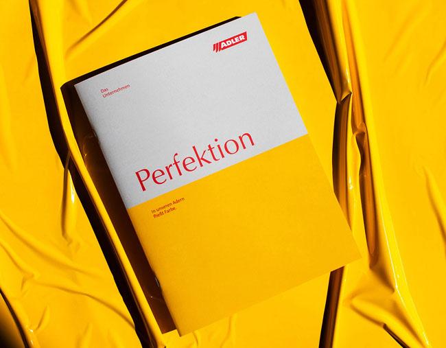 油漆企业Adler顶级画册设计