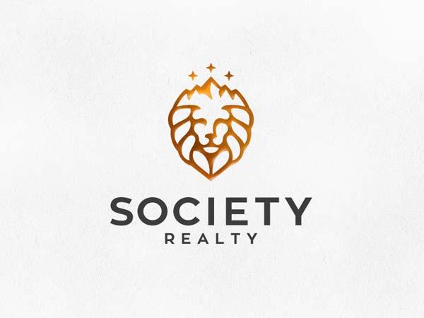 北京标志设计公司分享:狮子图案品牌标志设计