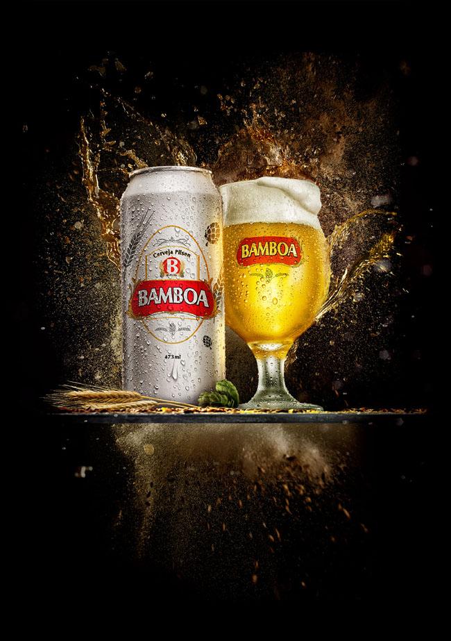 青岛广告设计公司分享:啤酒广告设计海报