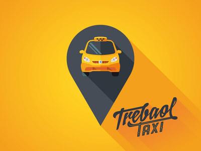 深圳logo设计公司整理:出租车图形logo设计图