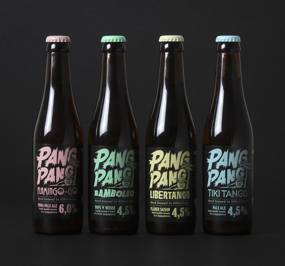 PANGPANG啤酒产品形象设计