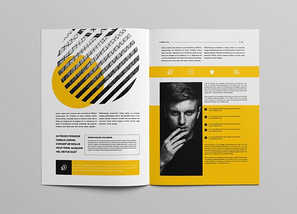 广州画册设计公司推荐:简约大气企业画册版式设计