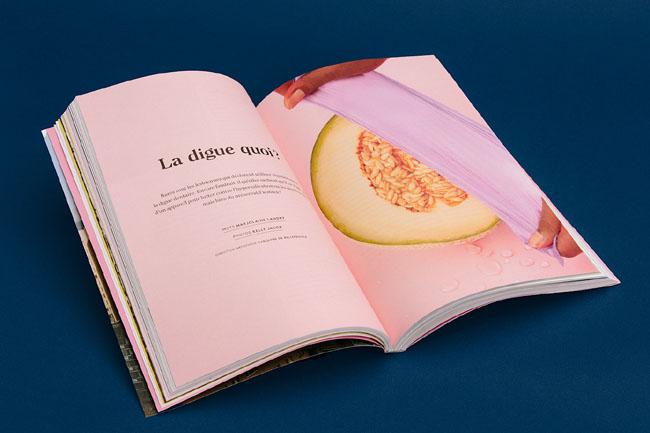 专业时尚LSTW杂志设计画册设计说明