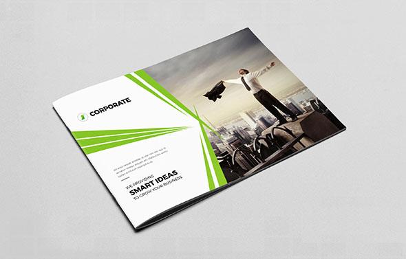 画册设计费值了?商务画册设计模版
