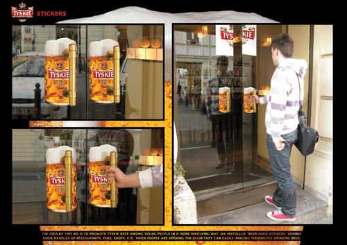 东莞平面设计公司分享:啤酒海报设计欣赏