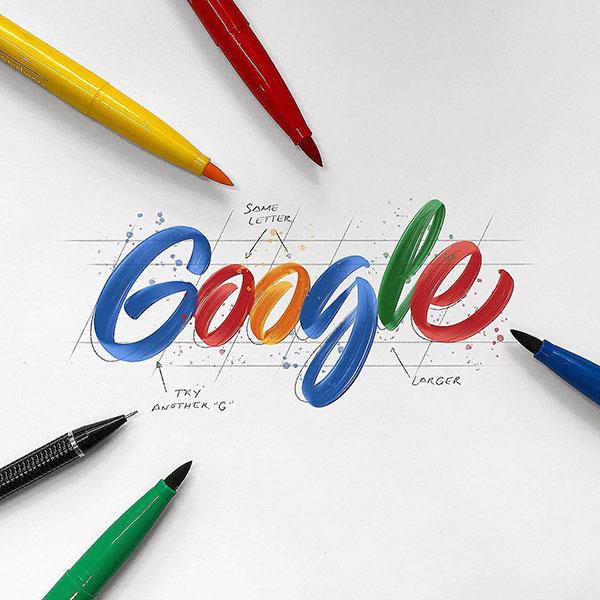 中山商标设计公司推荐: 知名品牌手绘字体商标设计