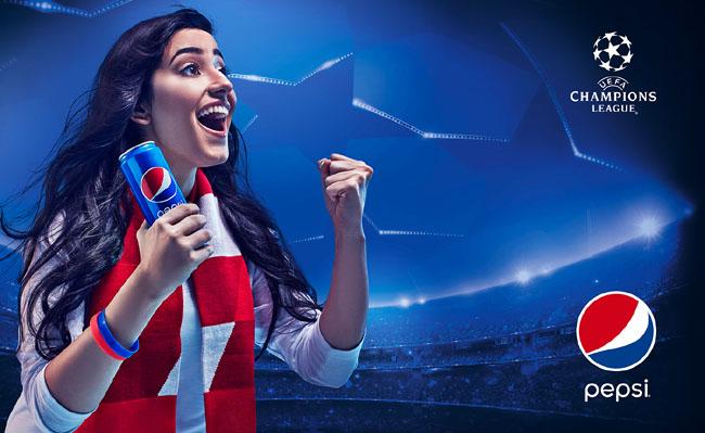 武汉广告设计公司分享:百事可乐广告设计宣传