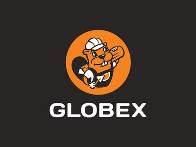 杭州标志设计公司分享:海狸动物标志设计图片