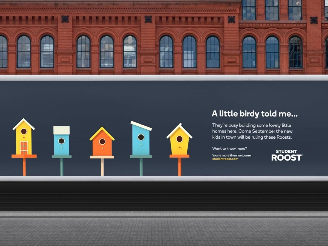 学生公寓租赁平台品牌广告设计
