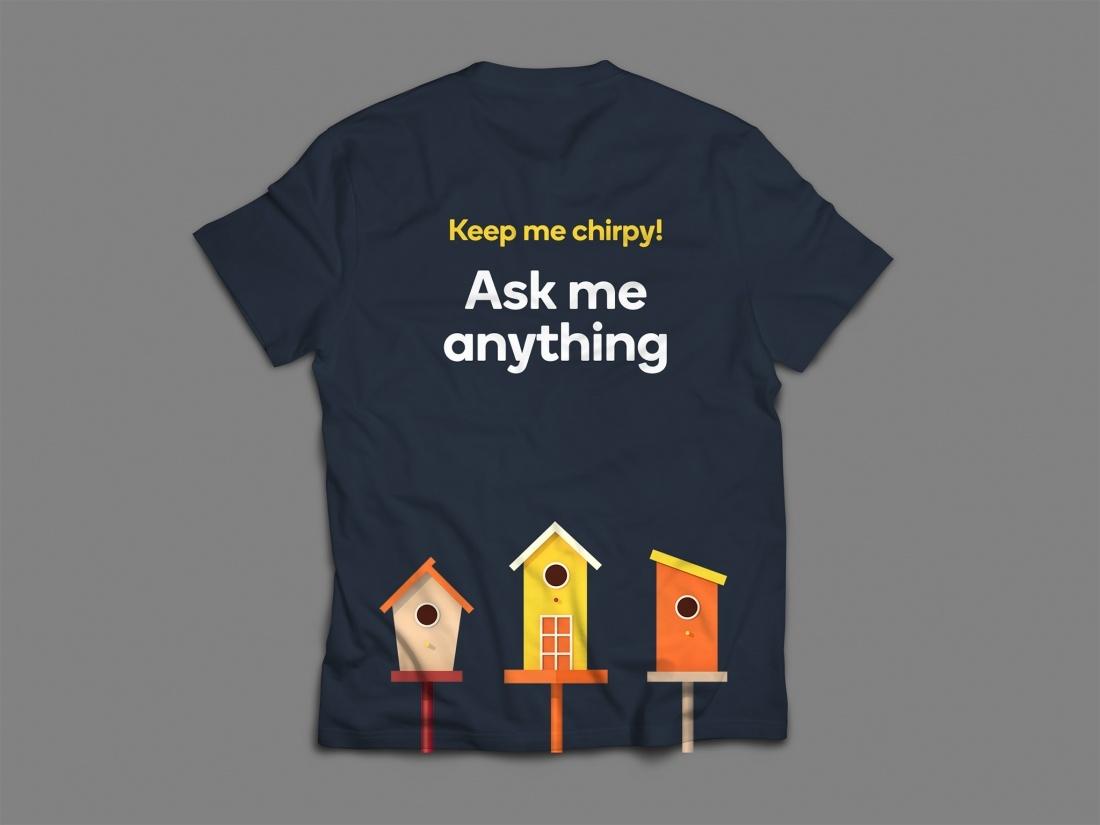 学生公寓租赁平台t恤衫设计