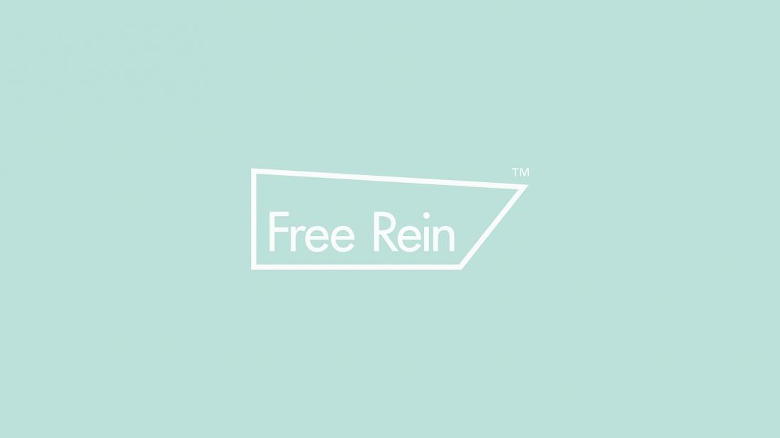 时尚界Free Rein服装vi设计,风格柔和自信,创造出清新感