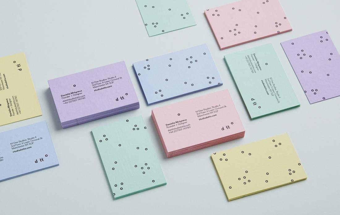 Dotto独立设计工作室企业形象塑造,风格独特