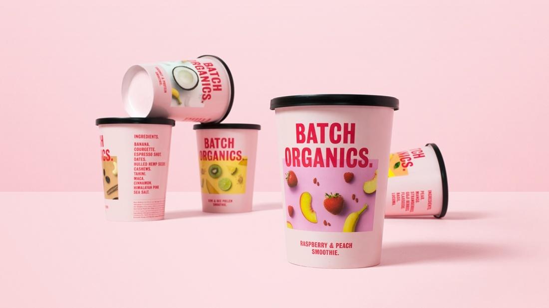 Batch Organics有机产品品牌形象设计,健康饮食的忙碌人群的选择