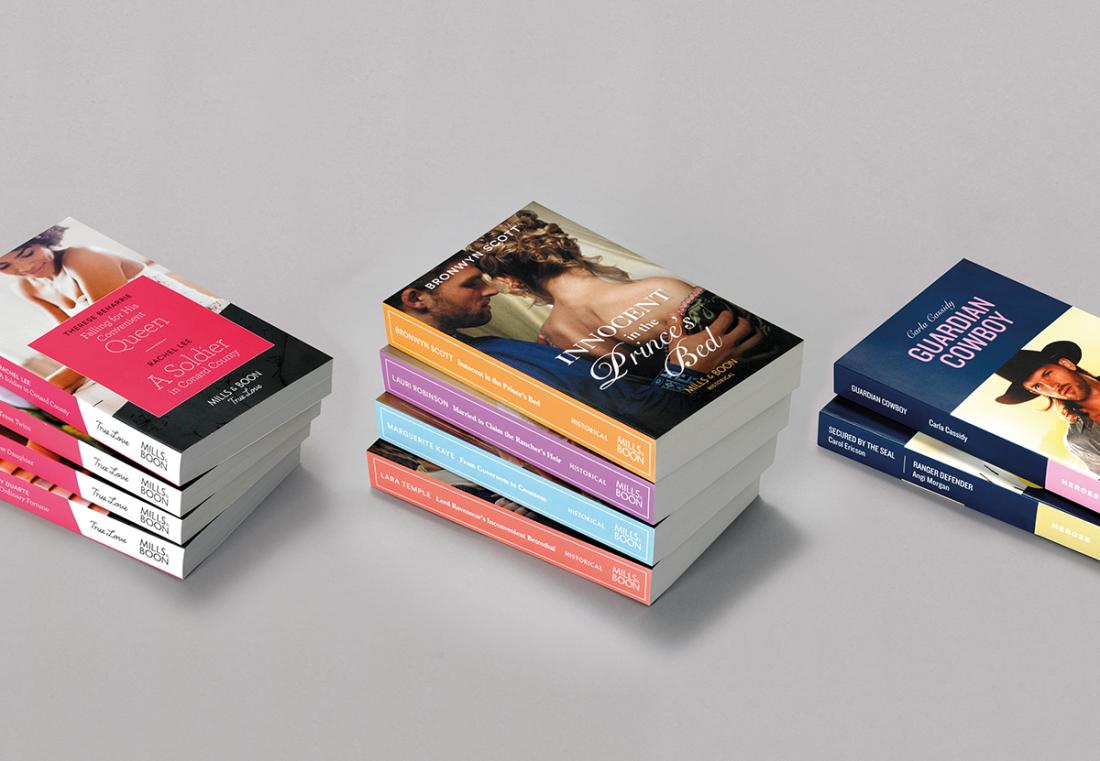 安格斯·海兰德爱情小说出版商vi设计,浪漫之心品牌理念