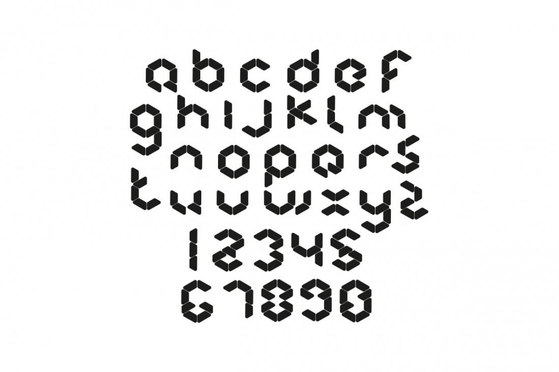 12個非常牛逼的英文字母字體設計