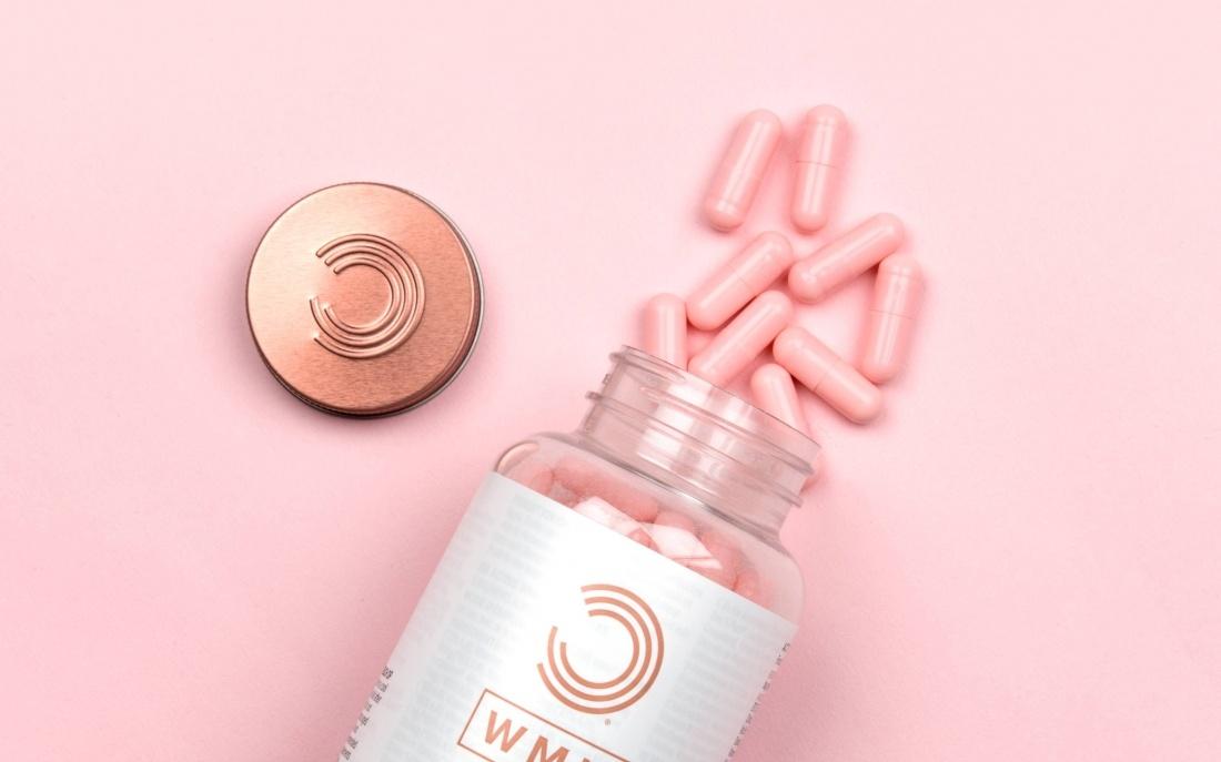 领先运动营养品牌WMN形象塑造,营养品包装设计