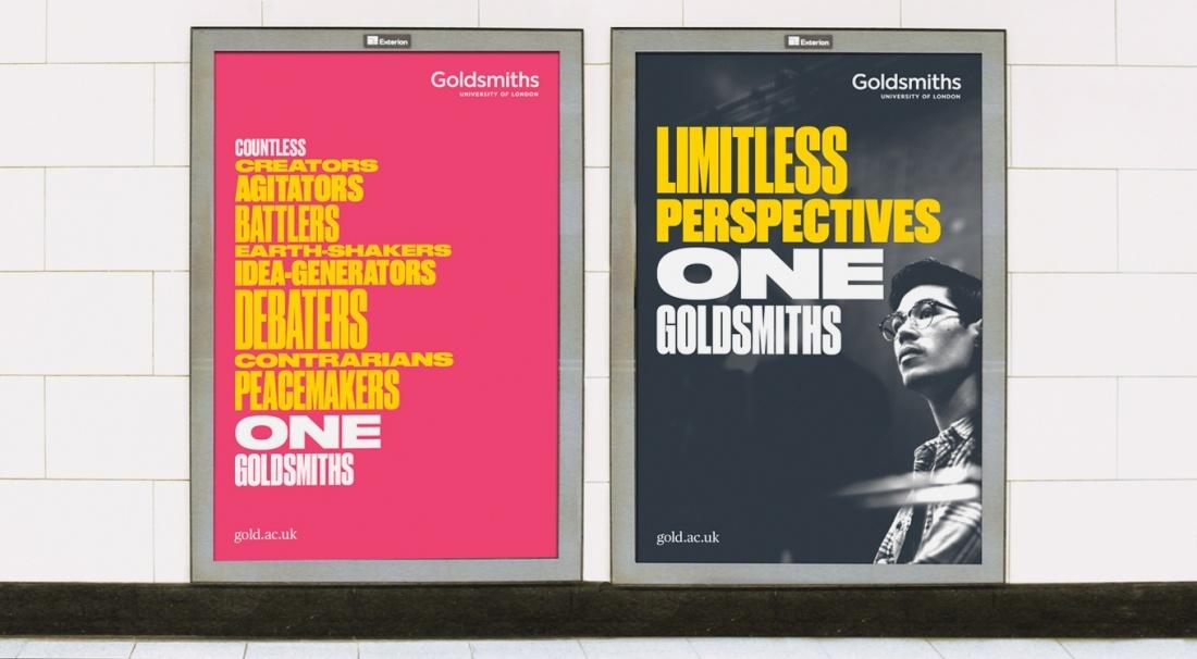 伦敦金史密斯大学vi设计,学校品牌形象设计
