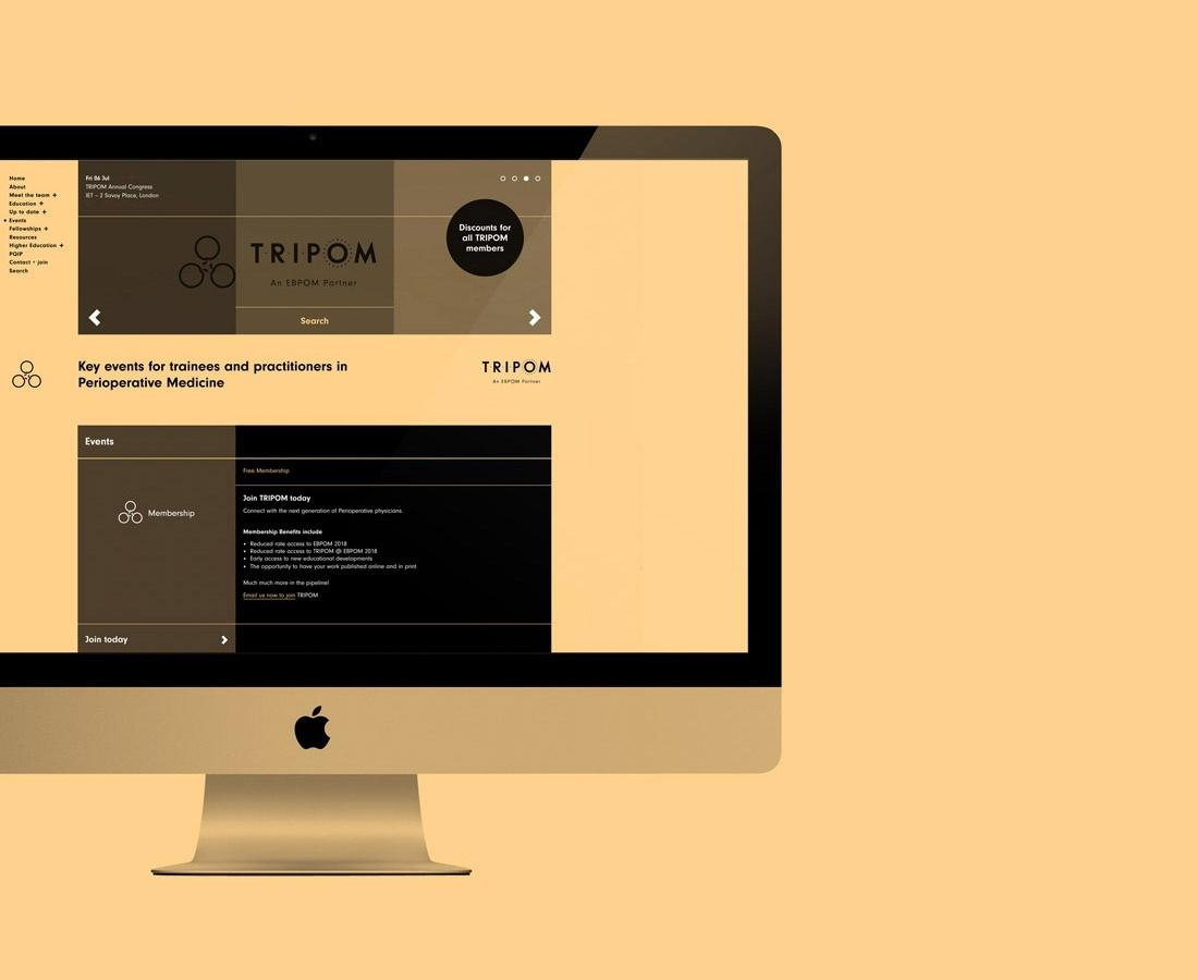 别具一格的TRIPOM医疗品牌vi设计,医疗logo设计