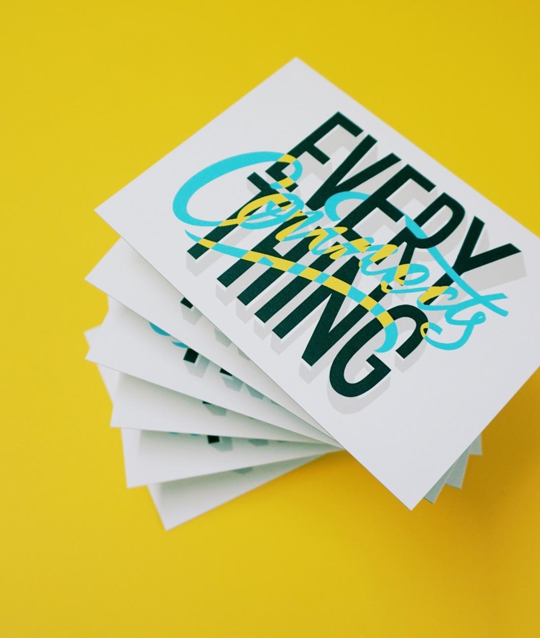 创意明信片设计