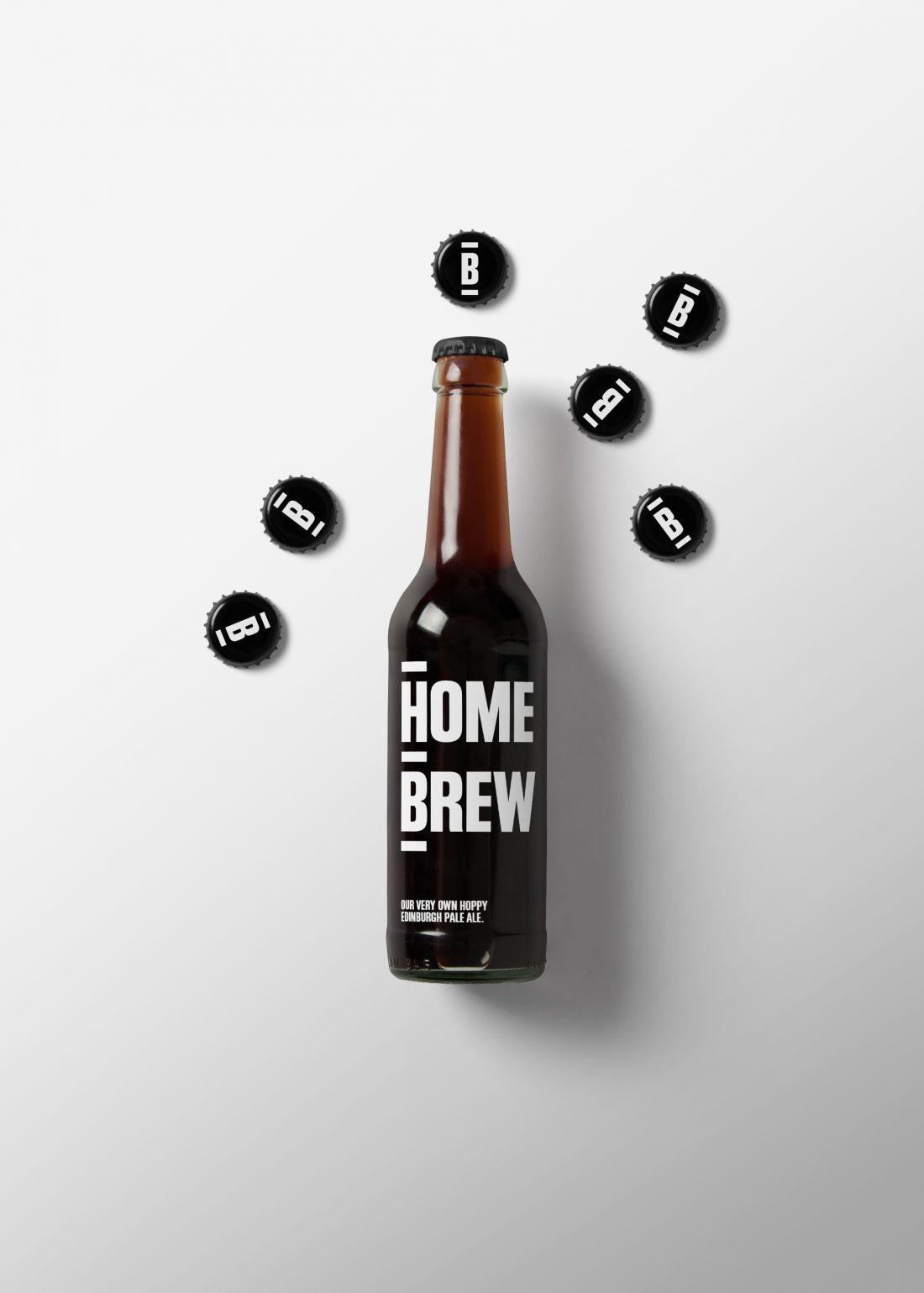 大胆自信和极简主义餐饮vi设计,汉堡品牌西餐厅logo设计