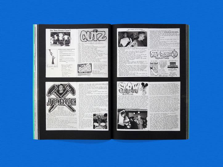 一本画册设计,记录了三年来不可思议的音乐生活