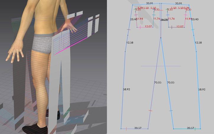 卡尔·赫纳用他非传统的数字平面设计方法解构服装