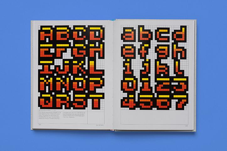 街机游戏排版中最好的8像素等宽字体设计